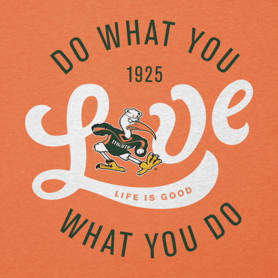 Women's University of Miami Do What You Love Cool Vee