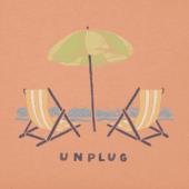 Women's Unplug Beach Chill Crusher Scoop Neck Tee