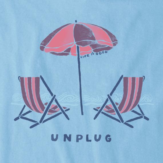Women's Unplug Beach Chill Crusher Vee