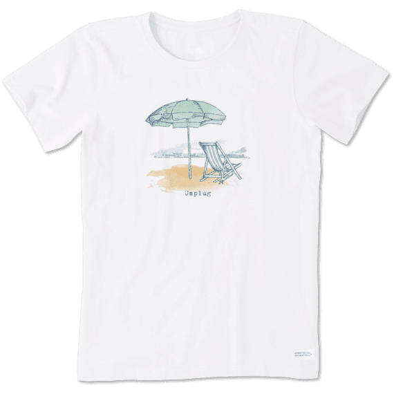 Women's Unplug Beach Crusher Tee