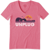 Women's Unplug Beach Guitar Cool Vee