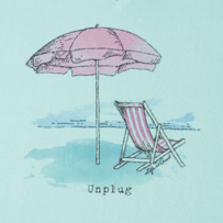 Women's Unplug Beach Umbrella Crusher Vee