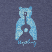 Women's Unplug Bear Cool Vee