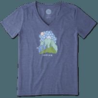 Women's Unplug Snowy Mountain Cool Vee