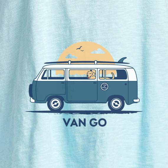Women's Van Go Textured Slub Tank