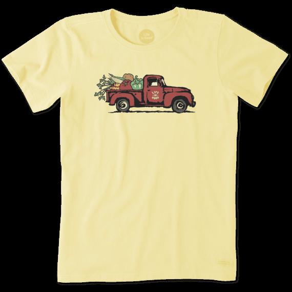 0b35f22a092 Women s Veg Out Truck Crusher Tee