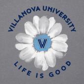Women's Villanova Daisy Long Sleeve Cool Vee
