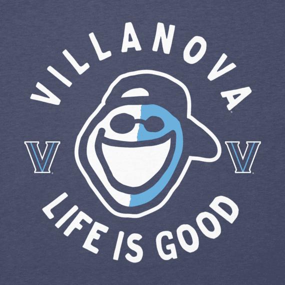 Women's Villanova Face Paint Jake Long Sleeve Cool Vee