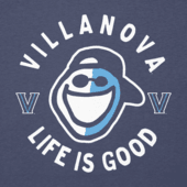 Women's Villanova Face Paint Jake Long Sleeve Cool Vee