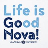 Women's Villanova Life is Good Cool Vee