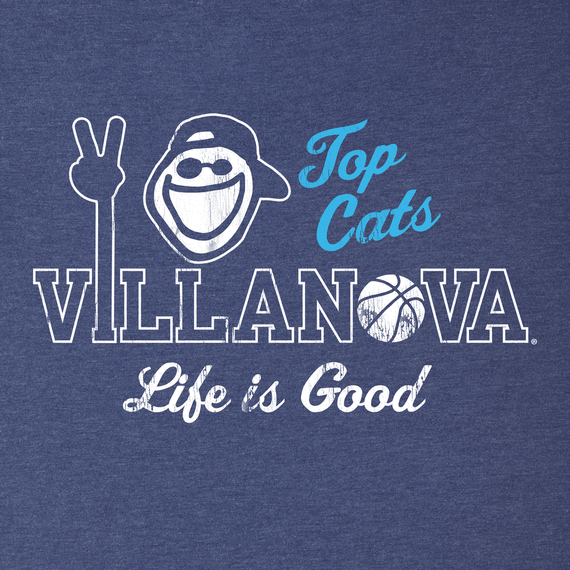 Women's Villanova Top Cats Cool Vee