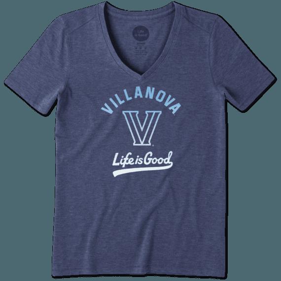 Women's Villanova Wildcats Gradient Tailwhip Cool Vee