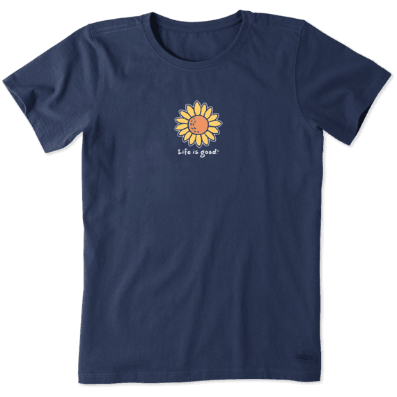Women's Vintage Sunflower Vintage Crusher Tee