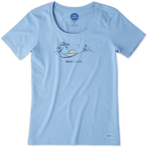 Women's Vista Happy Hour Crusher Scoop Tee