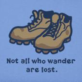 Women's Wander Boots Vintage Crusher Tee
