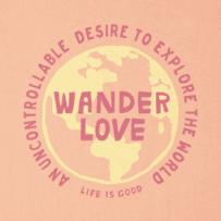 Women's Wander Love Crusher Tee