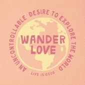 Women's Wander Love Crusher Tee