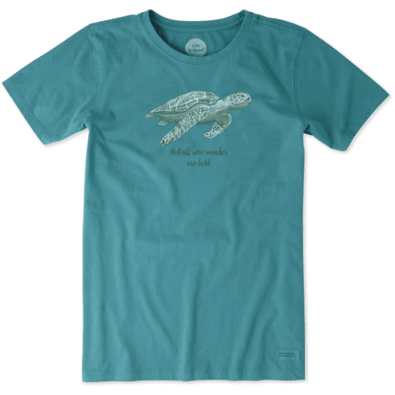ccf090c0 Images. Women's Wander Sea Turtle Crusher Tee