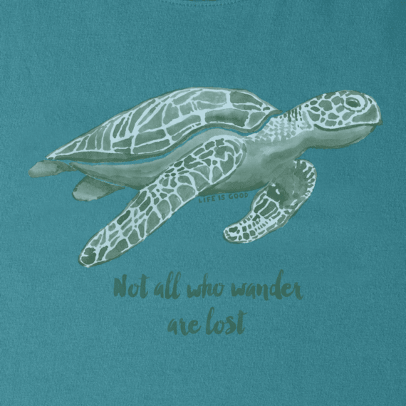 9b4fd713 Women's Wander Sea Turtle Crusher Tee