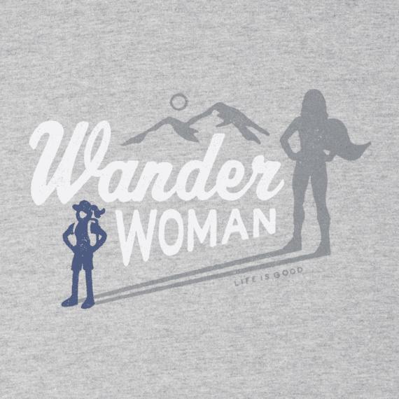 Women's Wander Woman Hike Long Sleeve Crusher Tee