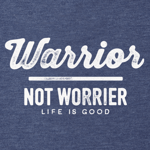 Women's Warrior Not Worrier Cool Vee