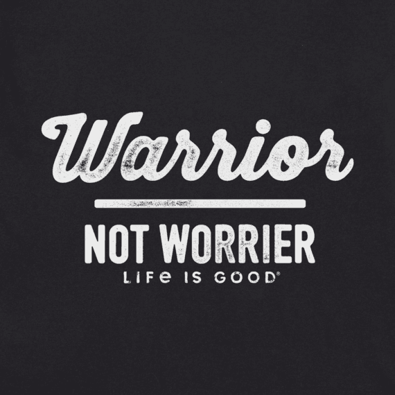 Women's Warrior Not Worrier Crusher Tee