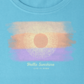 Women's Watercolor Hello Sun Crusher Scoop