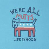 Women's We're All Mutts Crusher Tee