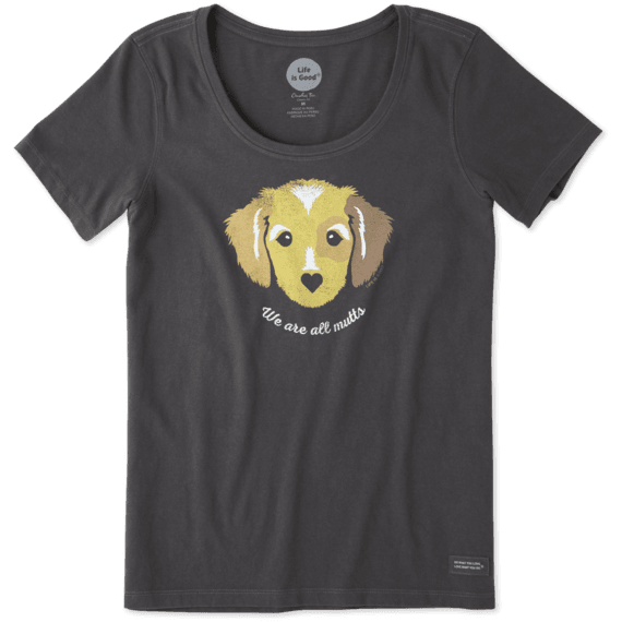 Women's We're All Mutts Dog Crusher Scoop