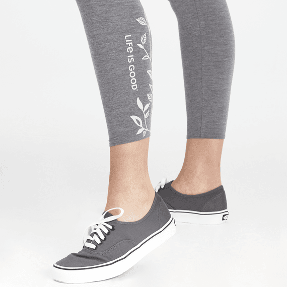 Women's Whisperer Leaves Supreme Blend High-Rise Legging
