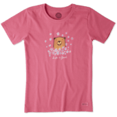 Women's Wildflower Bear Crusher Tee