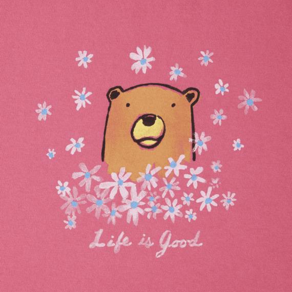 Women's Wildflower Bear Crusher Tee