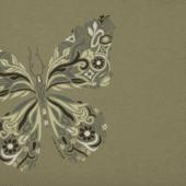 Women's Wildflower Butterfly Crusher Vee
