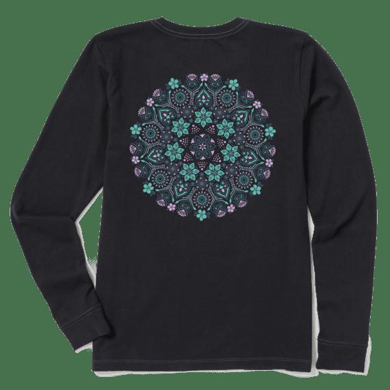 Women's Wildflower Primal Mandala Crusher Long Sleeve