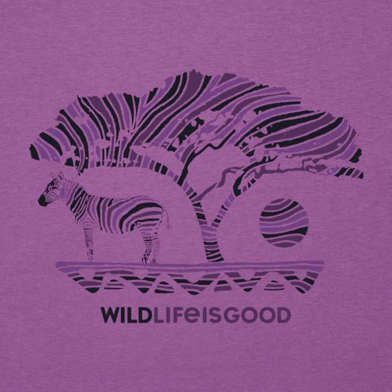 Women's Wildlife Zebra Cool Vee
