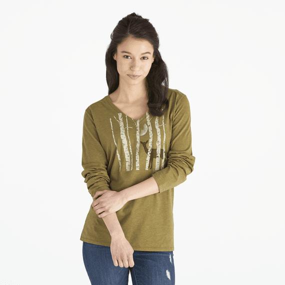 Women's Winter Blanket Long Sleeve Cool Vee