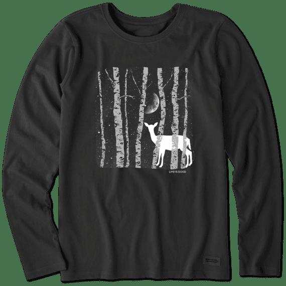 Women's Winter Blanket Long Sleeve Crusher Tee