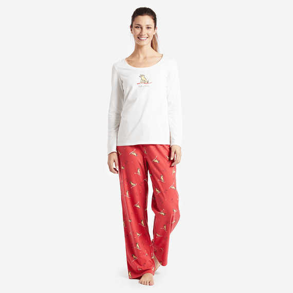 Women's Winter Rocket Jersey Sleep Pants