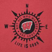 Women's Wisconsin Compass Cool Vee