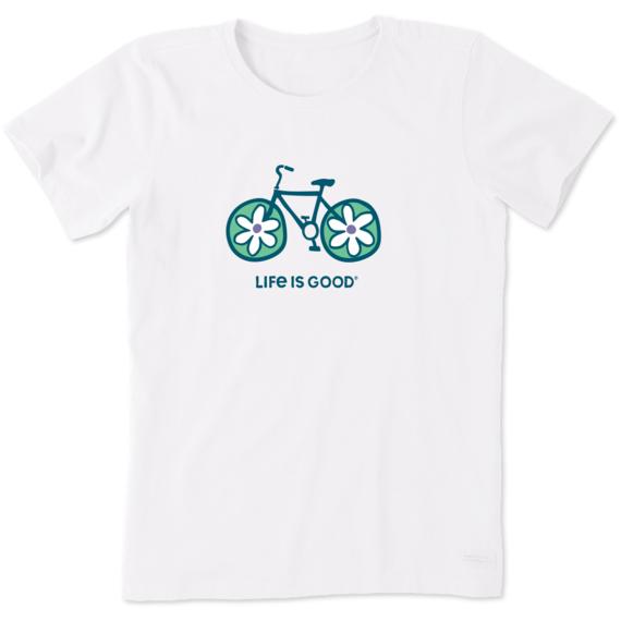 Women's Flower Bike Crusher Tee