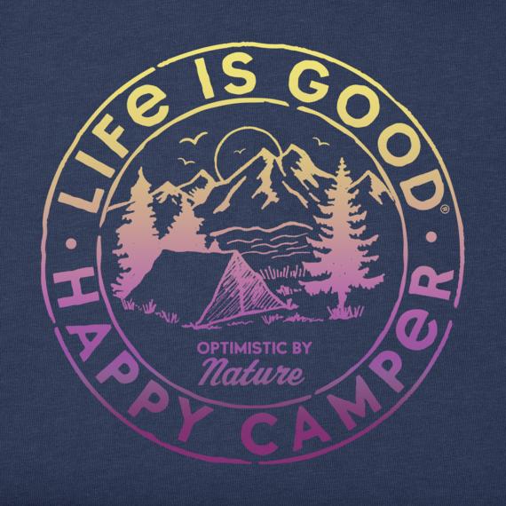Women's Happy Camper Retro Crusher Tee