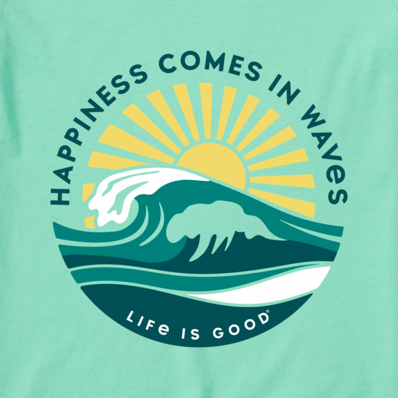 Women's Happy Waves Crusher Tee
