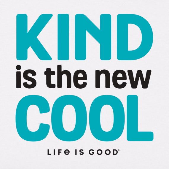 Women's Kind Is The New Cool Crusher Tee