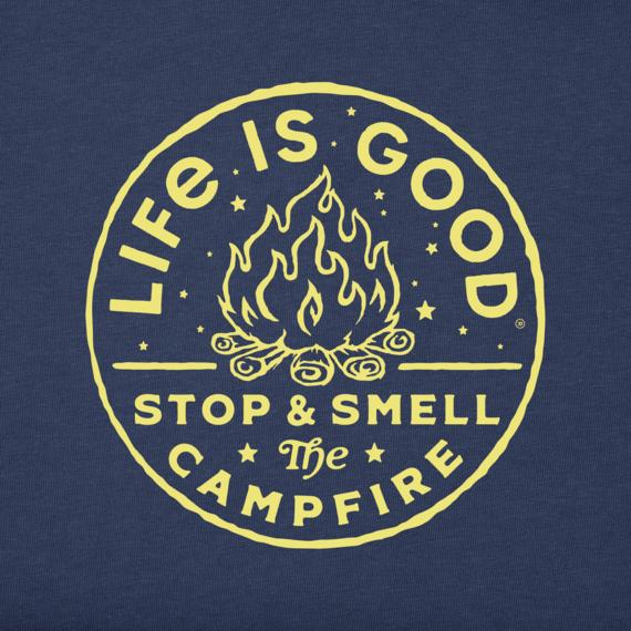 Women's LIG Smell The Campfire Crusher-LITE Tee