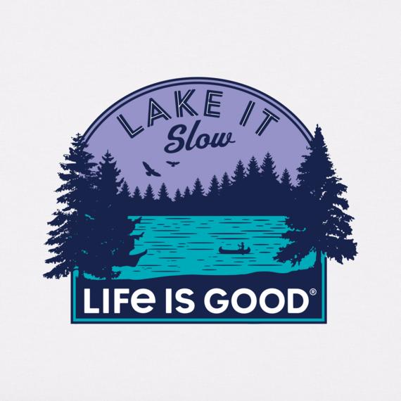 Women's Lake It Slow Crusher-LITE Tee