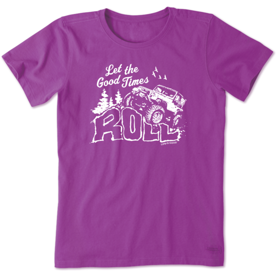 Women's Let The Good Times Roll Crusher Tee