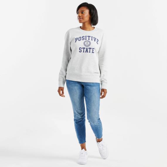 Women's Positive State Simply True Fleece Crew