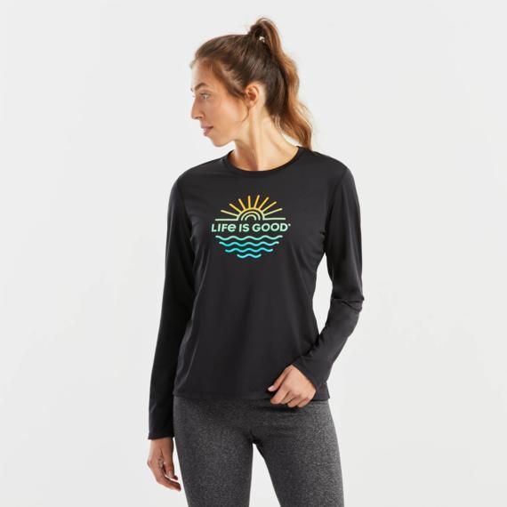 Women's Sun & Sea Long Sleeve Active Tee