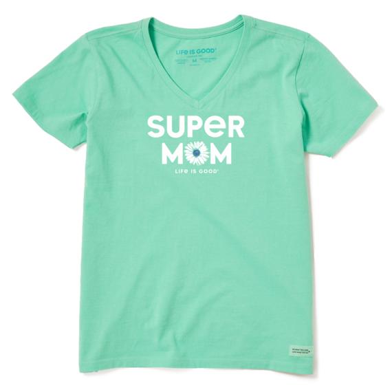 Women's Super Mom Crusher Vee