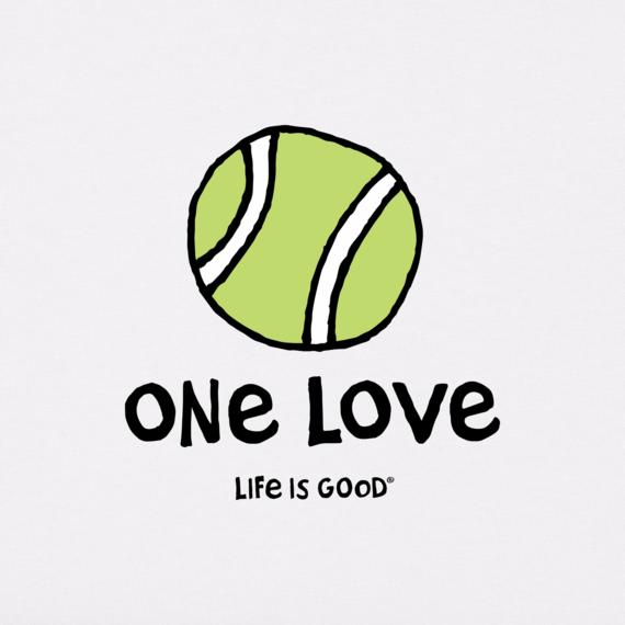 Women's Tennis One Love Crusher-LITE Tee